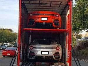 transporting cars