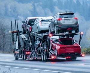 Cross country car shipping