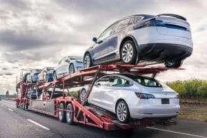 Open Trailer Auto Transportation. Open Trailer Car Shipping